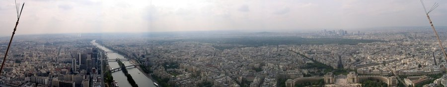 Eifel Tower panorama (West View)