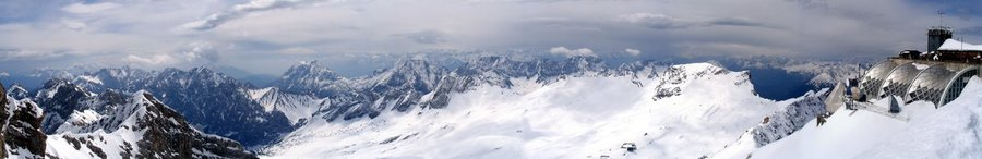 Panorama - Top of Germany (Zugspitze) II