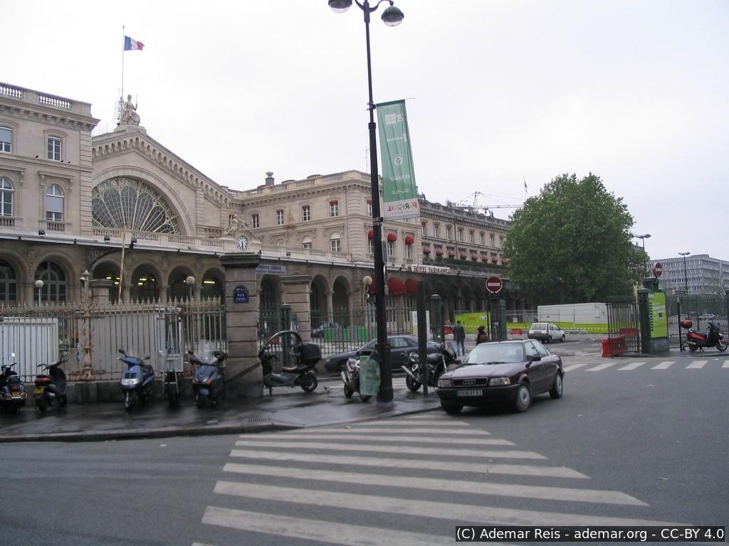 Tour por Paris - França: Estação de Trem Gare Du Nord