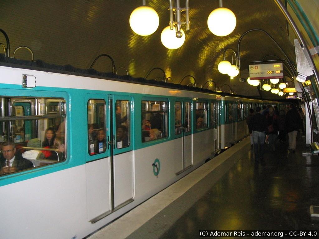 Tour por Paris - França: Metrô de Paris